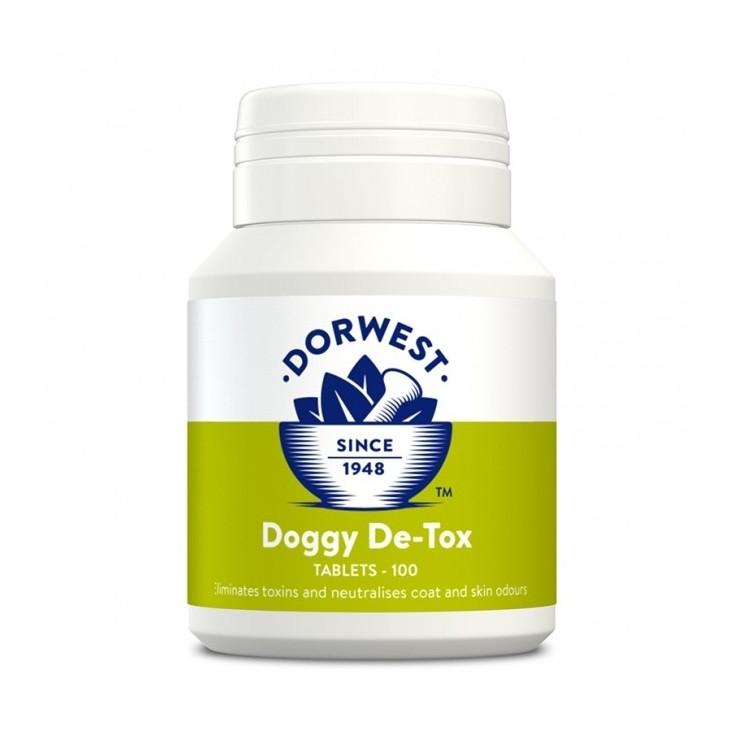 Doggy De Tox Dorwest Herbs, �limine les toxines et les mauvaises odeurs de chiens