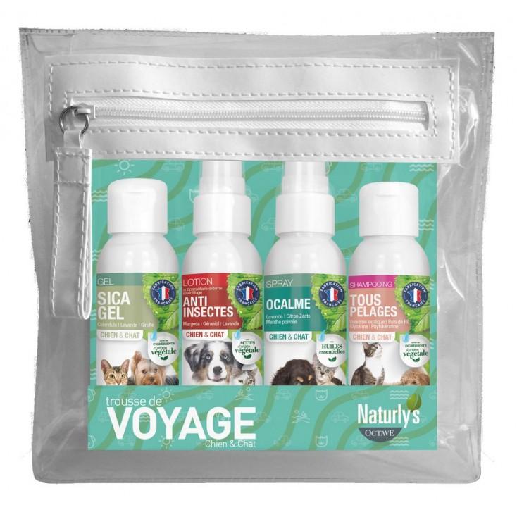 Trousse de voyage 4 produits Naturlys