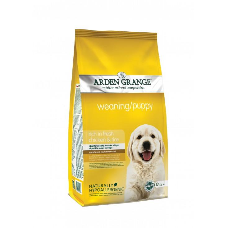 Croquettes Sevrage / Puppy Arden Grange 6kg