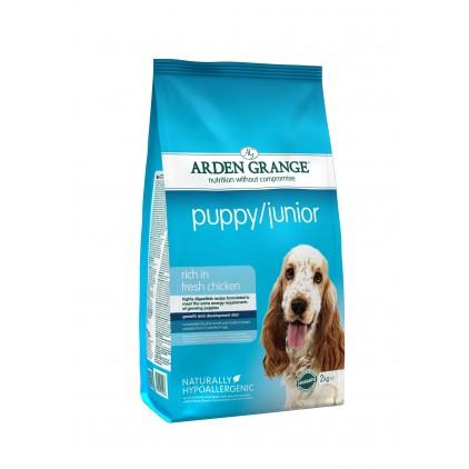 Croquettes Puppy Junior Arden Grange (petites et moyennes races)