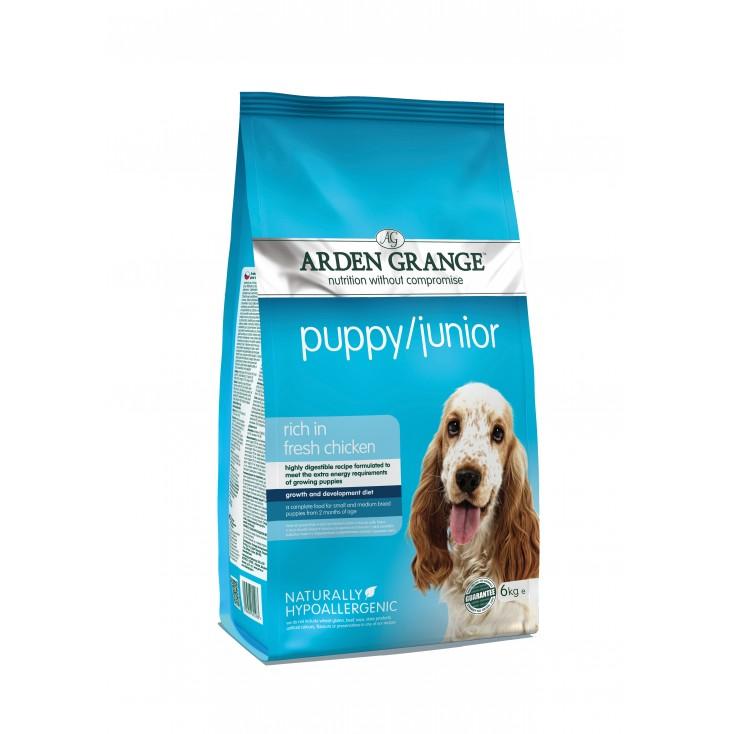 Croquettes Puppy / Junior 6kg Arden Grange