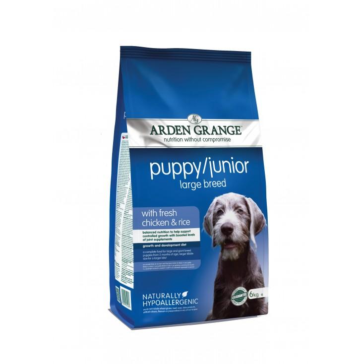 Croquettes Puppy / Junior Grande 6kg Race Arden Grange