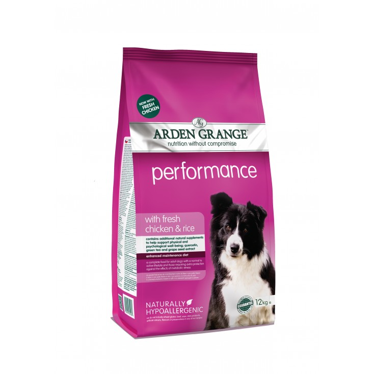 Croquettes Adulte Performance 12kg Arden Grange