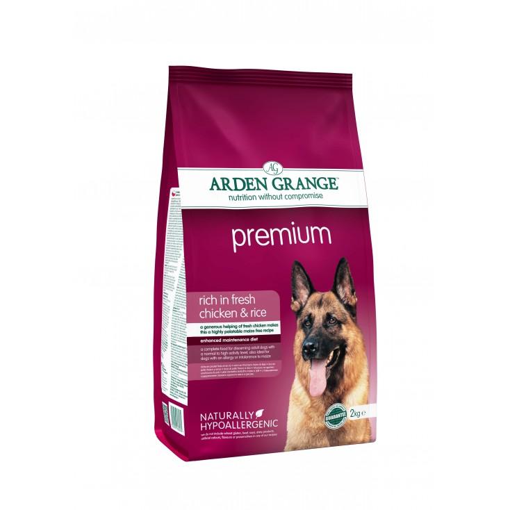 Croquettes Adulte Premium 2kg Arden Grange