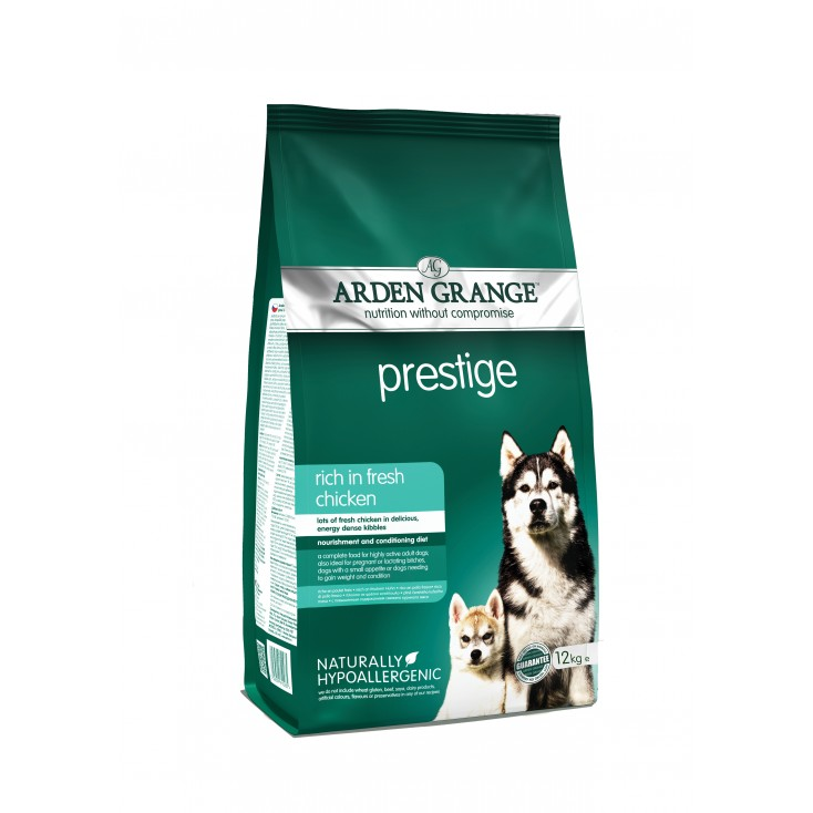 Croquettes Adulte Prestige 12kg Arden Grange