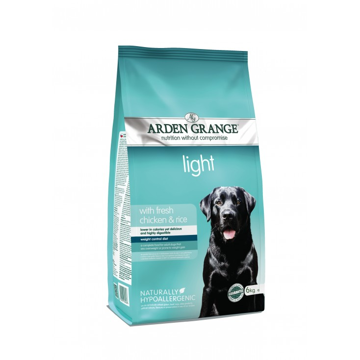 Croquettes Adulte Light 6kg Arden Grange