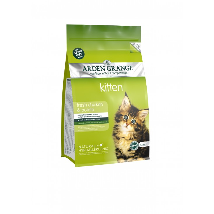 Croquettes chatons / Kitten 400g Arden Grange