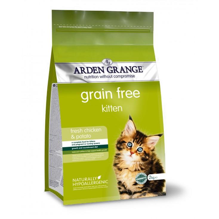 Croquettes chatons / Kitten 2kg Arden Grange