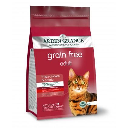 Croquettes chat Adulte au poulet frais Arden Grange