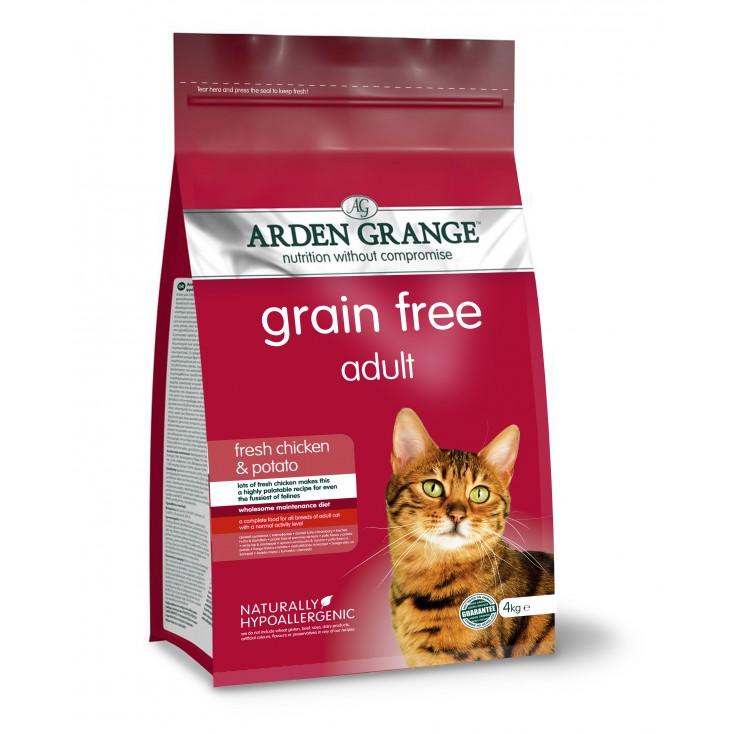 Croquettes chat Adulte au poulet frais4kg Arden Grange
