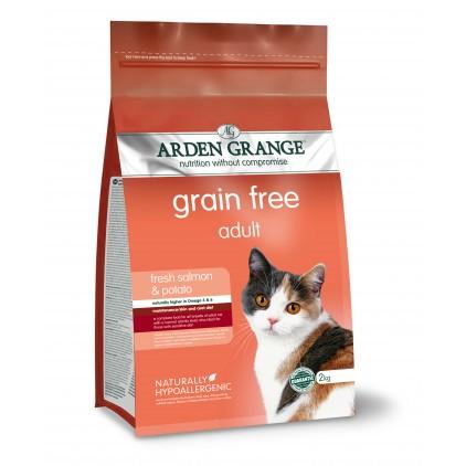 Croquettes chat Adulte au saumon frais Arden Grange