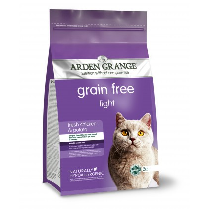 Croquettes chat Adulte Light Arden Grange