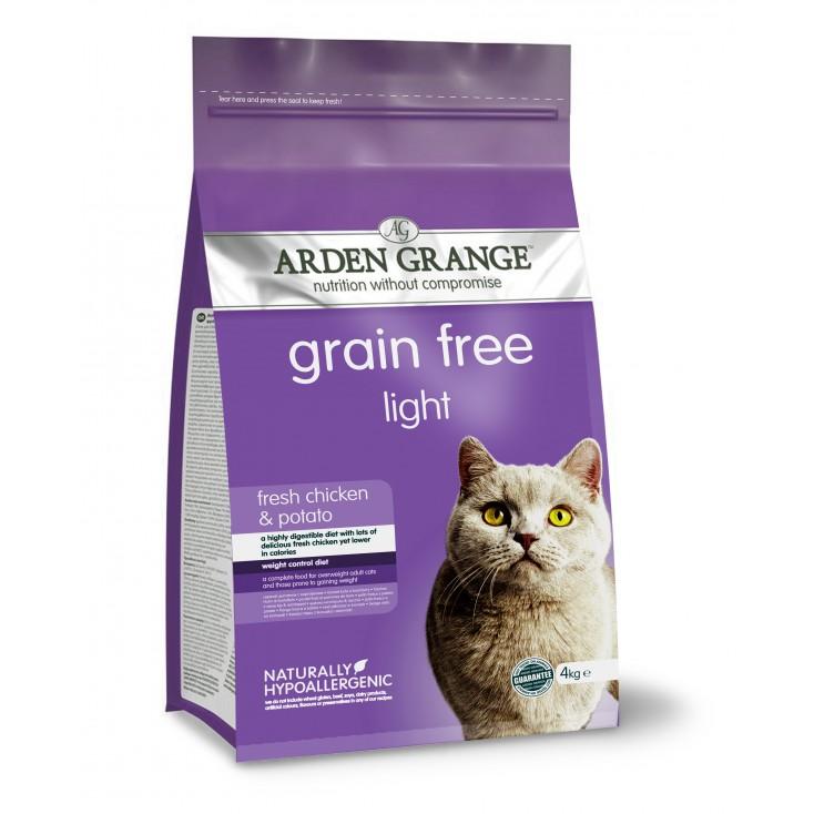 Croquettes chat Adulte Light 4kg Arden Grange