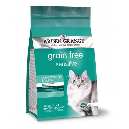 Croquettes chat Adulte Sensible Arden Grange
