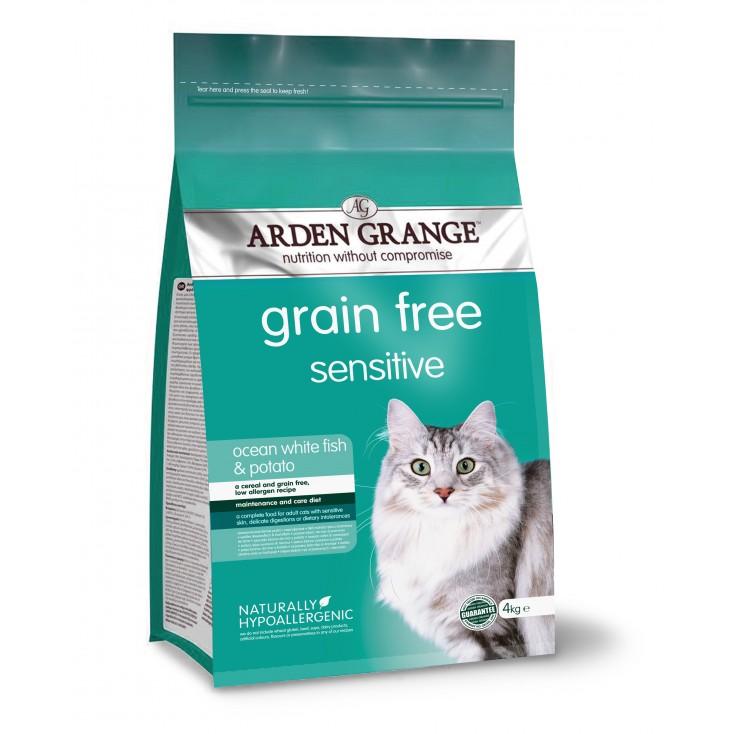 Croquettes chat Adulte Sensible 4kg Arden Grange