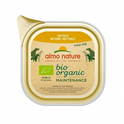 Pâtée pour chien Bio Organic maintenance 300g Almo Nature
