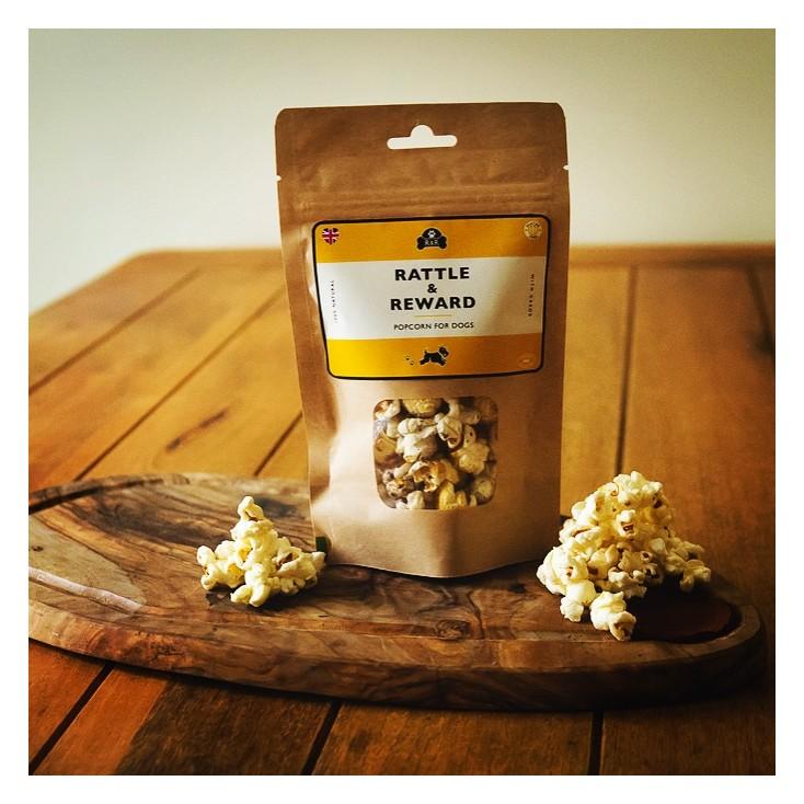 Friandises Popcorn pour chiens Rattle & Reward