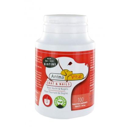 Biotine Complex fourrure & ongles pour chiens et chats Animavital