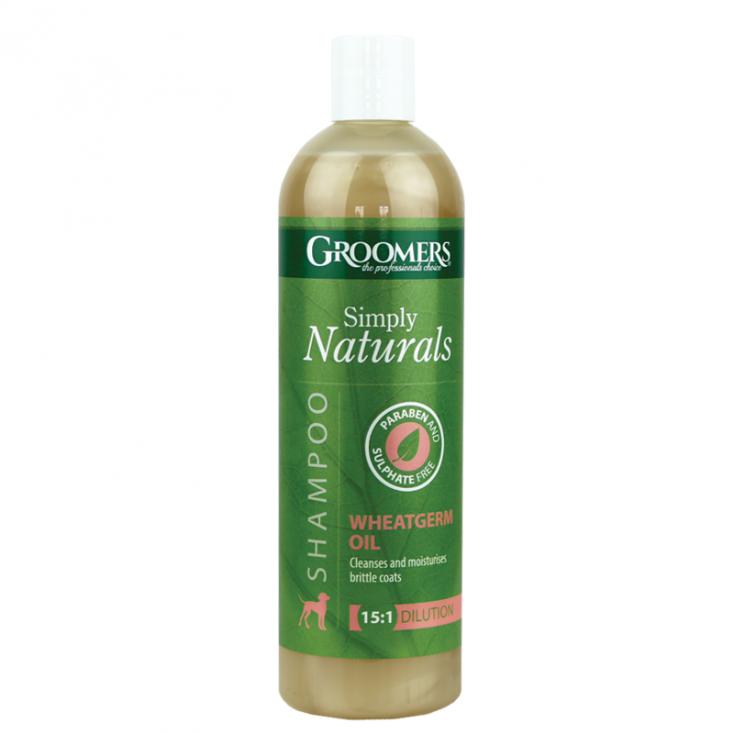 Shampoing Naturel à l'huile de germes de blé Groomers 500ml