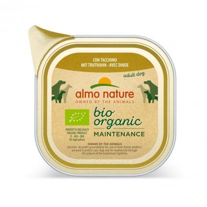 Bio pâtée pour chien Bio Organic maintenance 100g Almo Nature
