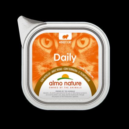 Daily Grain Free pâtée pour chats 100g Almo Nature