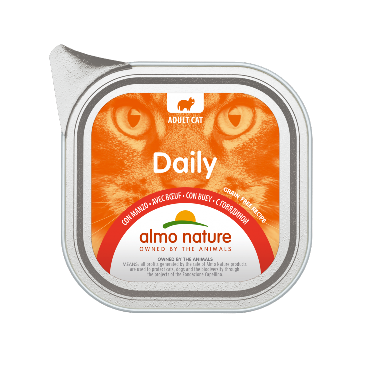 Daily Grain Free Boeuf -100g