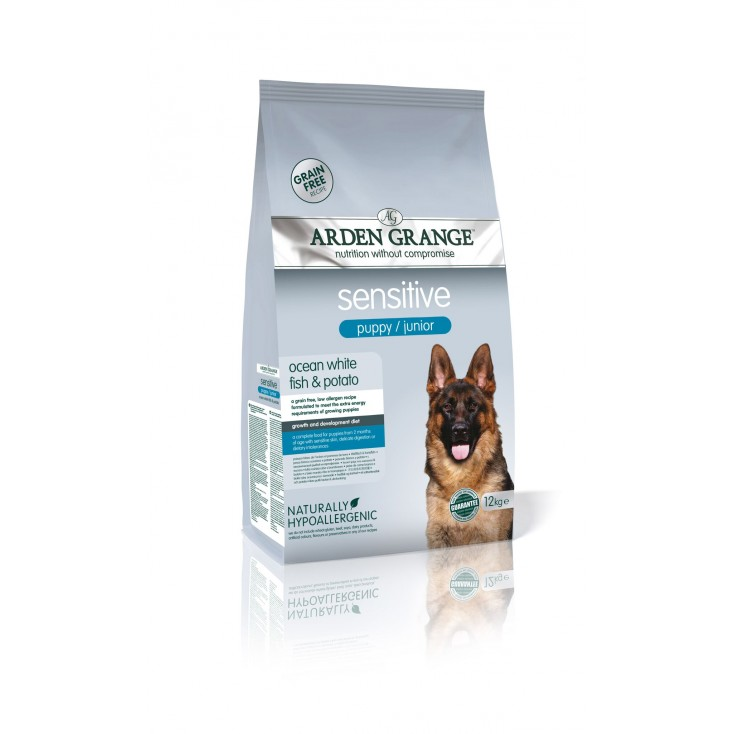 Croquettes Puppy/ Junior Sensible 12kg Arden Grange