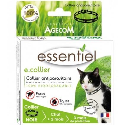 Collier pour chats anti tiques et puces essentiel