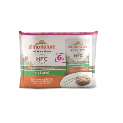 HFC natural megapack Almo Nature 6 x 55 g