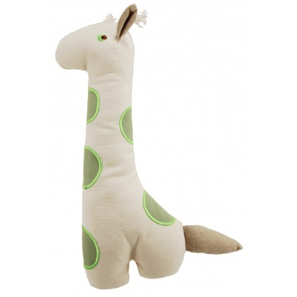 Jouets peluche Girafe canvas Bio Martin Sellier