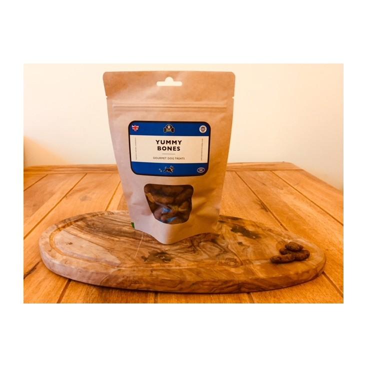 Friandises naturelles Yummy Bones pour chiens Rattle & Reward