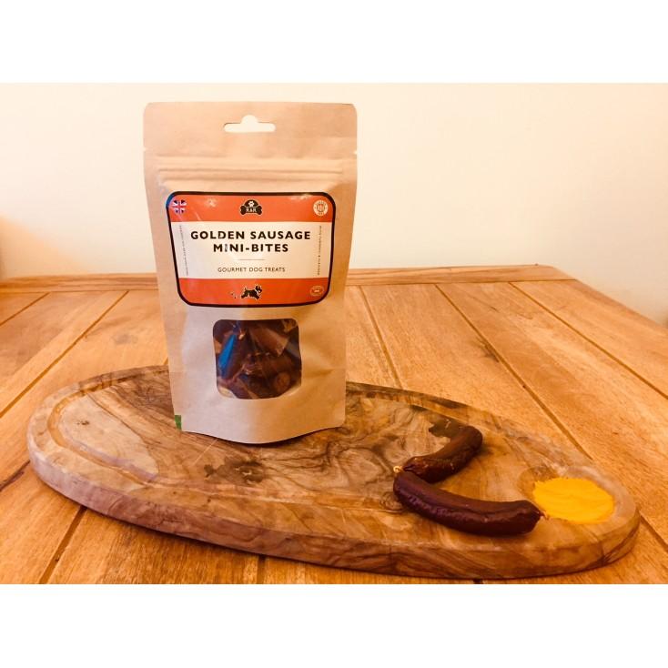 Friandises Bouchées de saucisse au curcuma new Rattle & Reward