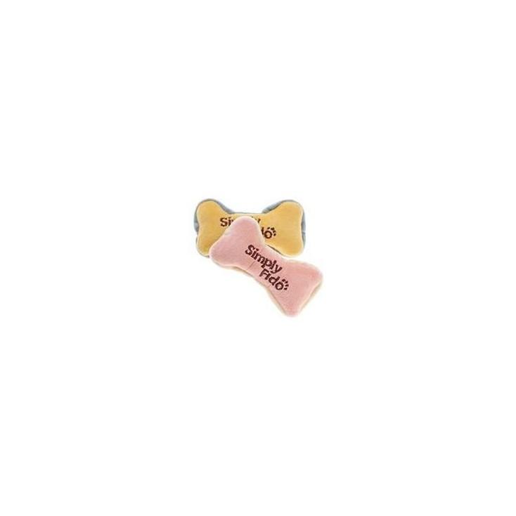 Jouet peluche Bio Mini os X 2 pour chiot ou petit chien Martin Sellier