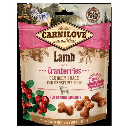 """Bouchées croquantes """"Crunchy Snack"""" Carnilove agneau"""