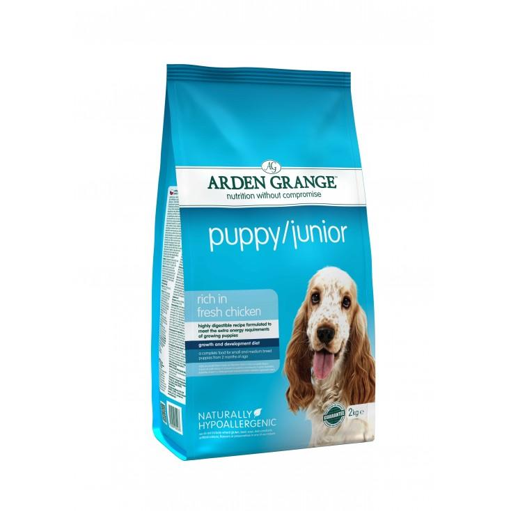 Croquettes Puppy / Junior 2kg Arden Grange