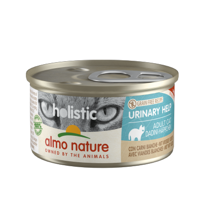Urinary pour chat boites 85g Almo Nature