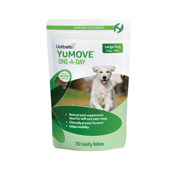 YuMOVE Un-Par-Jour Lintbells x 30 grands chiens paquet seul