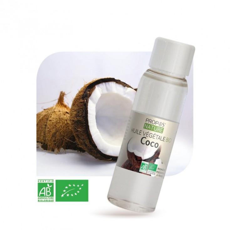 Huile végétale de coco Bio Propos'Nature 30ml