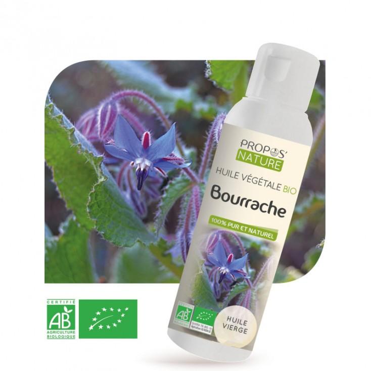 Huile végétale de bourrache Bio Propos'Nature