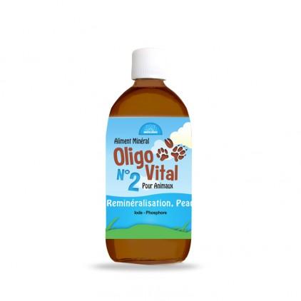 Oligovital N°2 Reminéralisation, peau, poils, griffes, ossature Bioligo