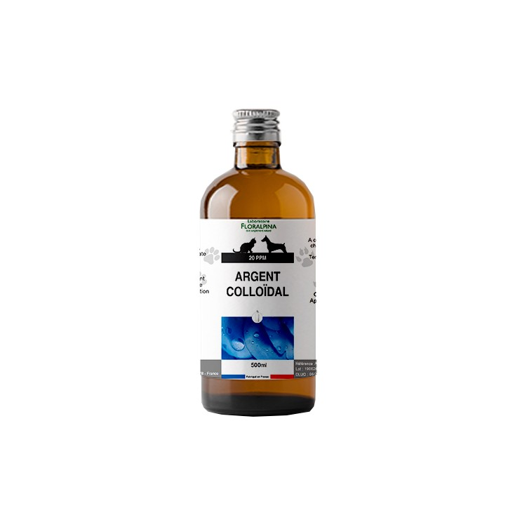 Argent colloïdal Floralpina 500ml