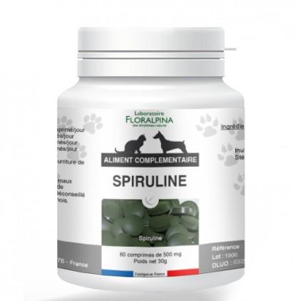 Spiruline pour chiens et chats-Floralpina 60