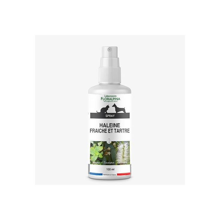 Spray haleine fraiche et tartre Floralpina