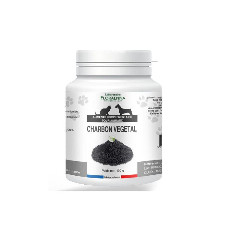 Poudre de charbon végétal Floralpina 100g