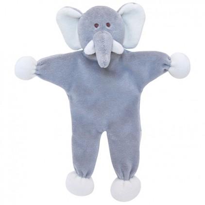 Peluche bio Elephant sans rembourrage Martin Sellier