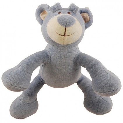 Peluche Ours bio sonore pour chiens Martin Sellier