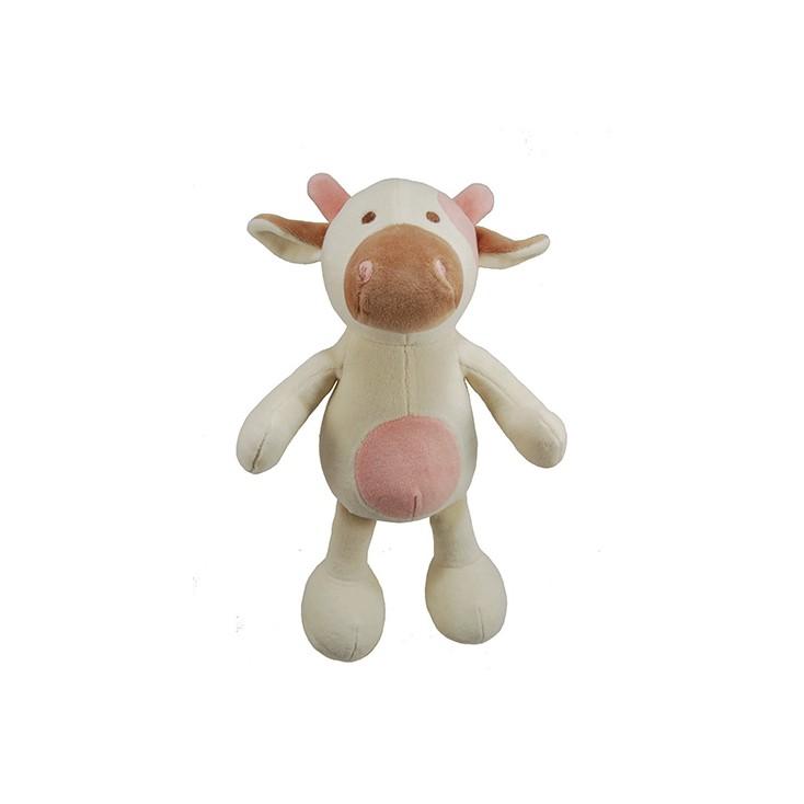 Peluche Vache bio sonore pour chiens Martin Sellier 25cm
