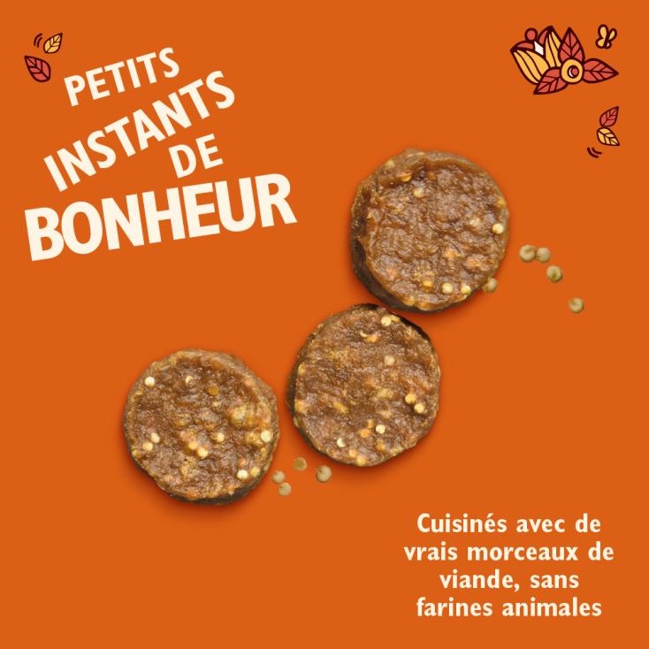 Mini bouchées au Poulet , Quinoa et Gingembre Lily's Kitchen
