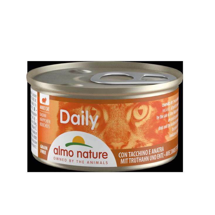 Daily Grain Free bouchée dinde & canard