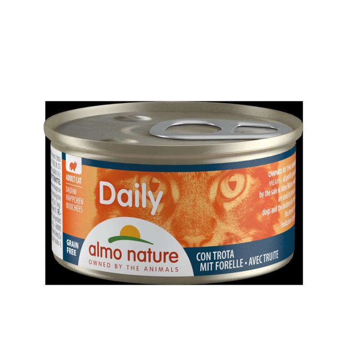 Daily Grain Free bouchée truite
